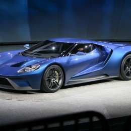 Ford Unveils 600+ HP Twin-Turbo EcoBoost V6 GT Supercar at Detroit Auto Show