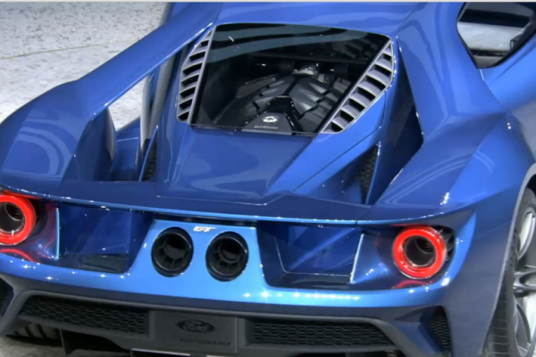 New Ford GT 4