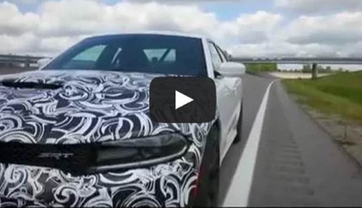 Video: Dodge Charger Hellcat Hits 204+ MPH!