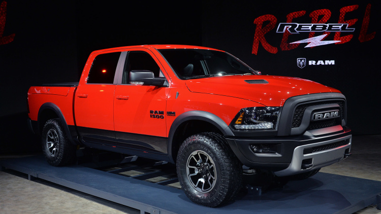 Performance Auto Parts >> RAM Rebel and RAM 1500 EcoDiesel Make Debut in Detroit - OnAllCylinders