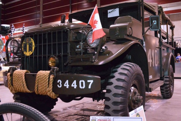 2015 Calgary WOW - Army Truck