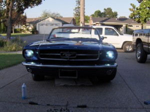 Projector-style headlights create a more intensely focused light. (Image courtesy of dashzracing.com)