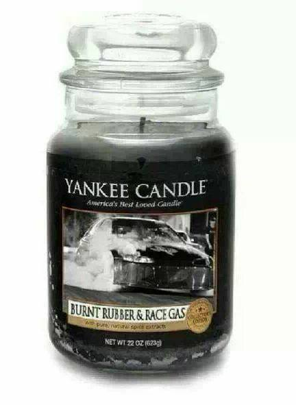Burnt rubber Yankee Candle