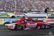 Summit Racing Pro Stock driver Greg Anderson fell a little short in the final round of the Four-Wide Nationals, but moved into third in the Pro Stock championship points standings.