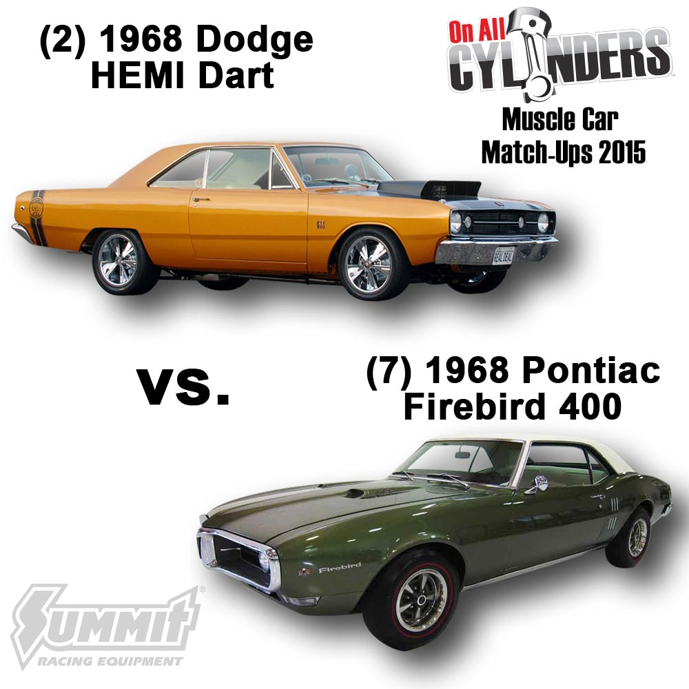 2015 Muscle Car Match Ups Unveiled Vote For Your Favorite 68 Pontiac Gto Wiring Diagram 7 1968 Firebird 400