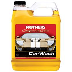 Mothers California Car Wash is specially formulated to be gentle on car surfaces.