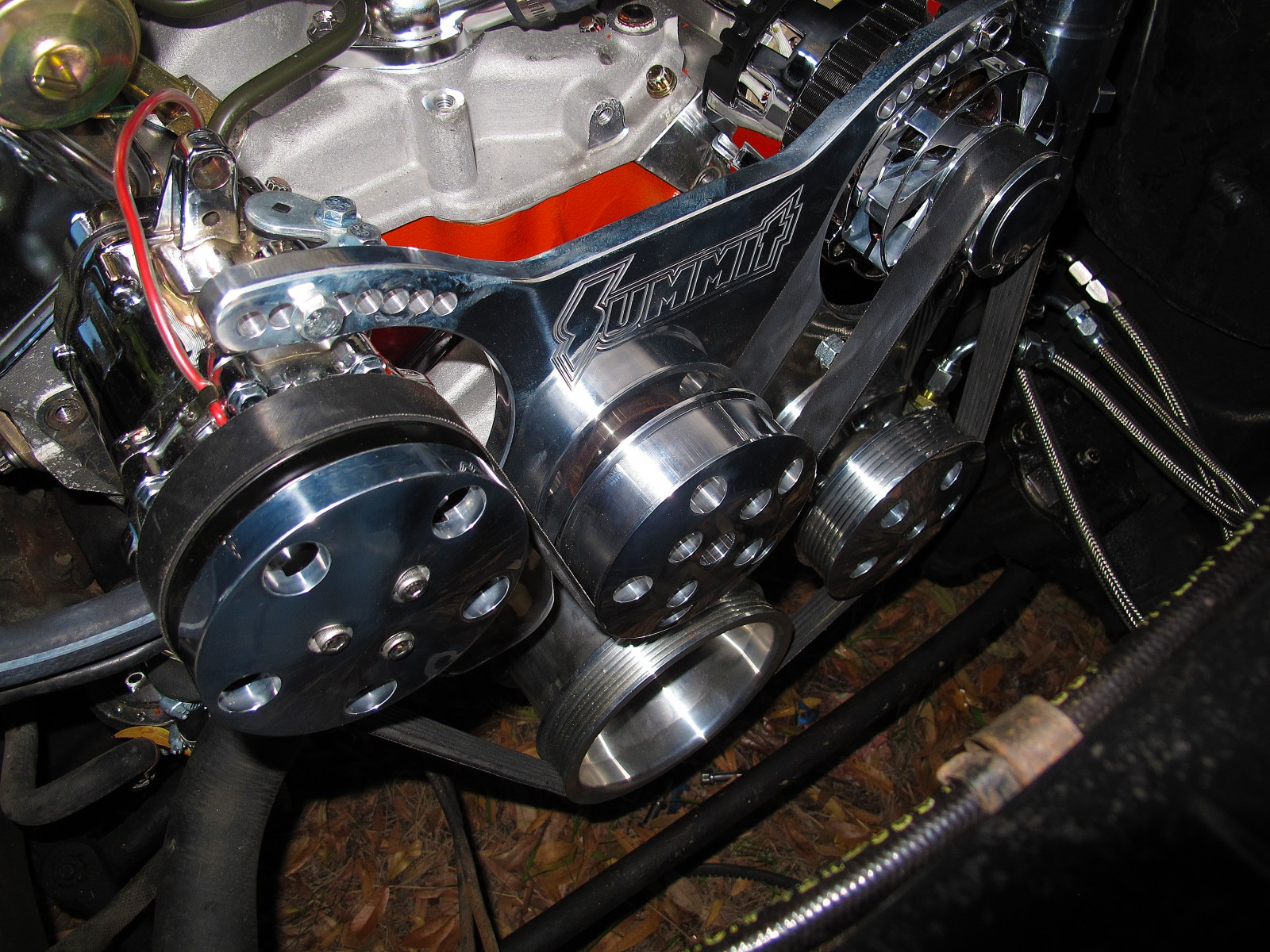 How Much Is A Power Steering Pump >> The Serpentine Solution: Installing a Summit Racing Small ...