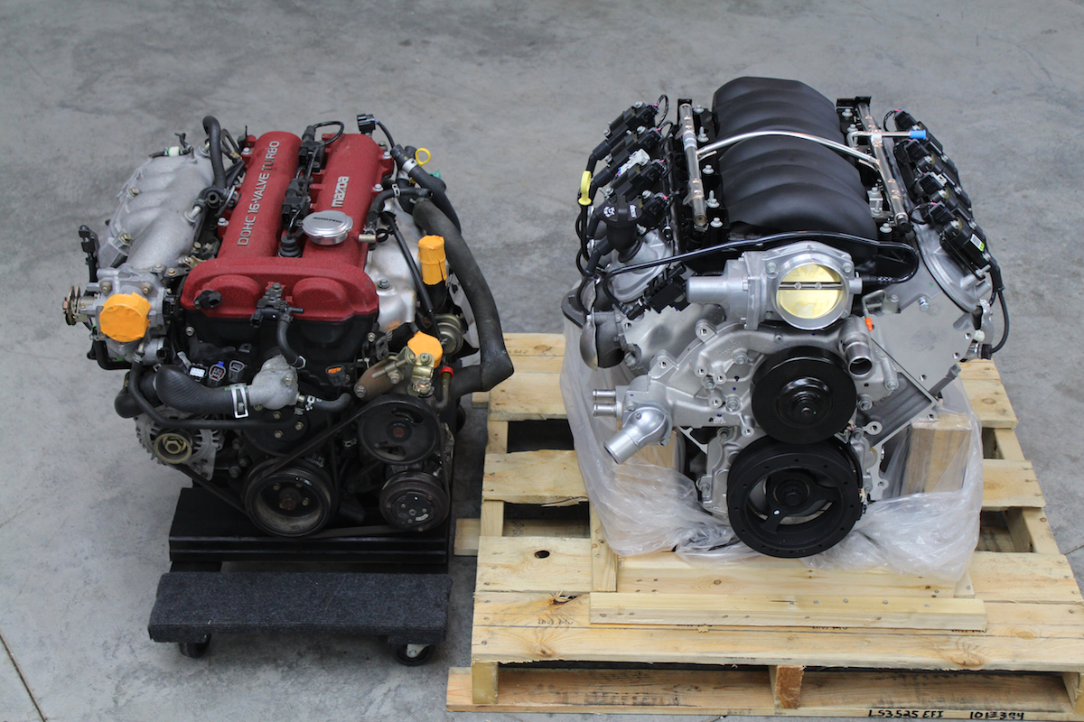 Project Thunderbolt LS3 V8 Miata (Part 3): The Engine ...
