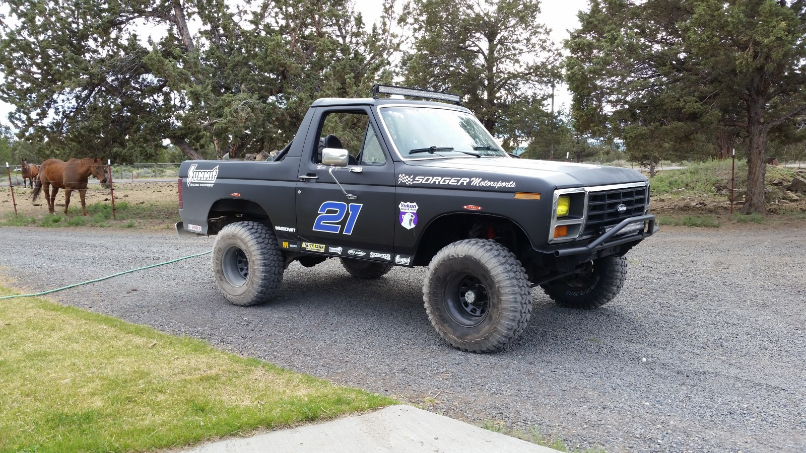 Desert Bronco (Part 2): Marc Sorger Finishes His Off-Road