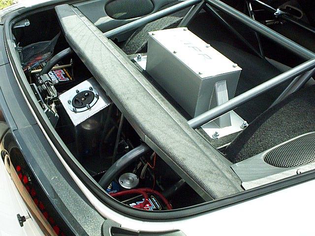 Ballast Weight Race Car