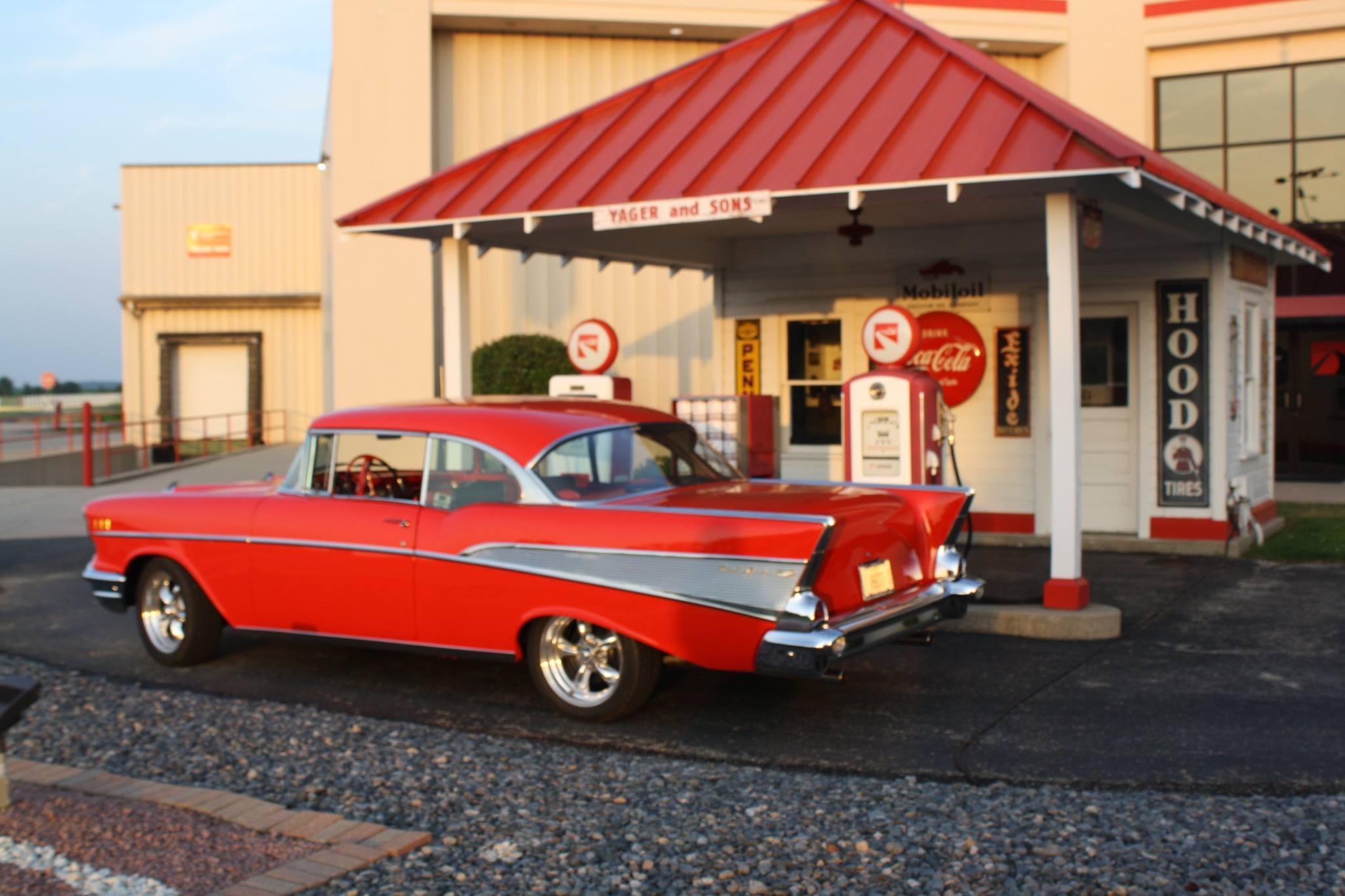 Dream Machine Dale Helpingstine S 1957 Chevy Bel Air