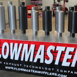 Flowmaster muffler image courtesy of stangtv.com