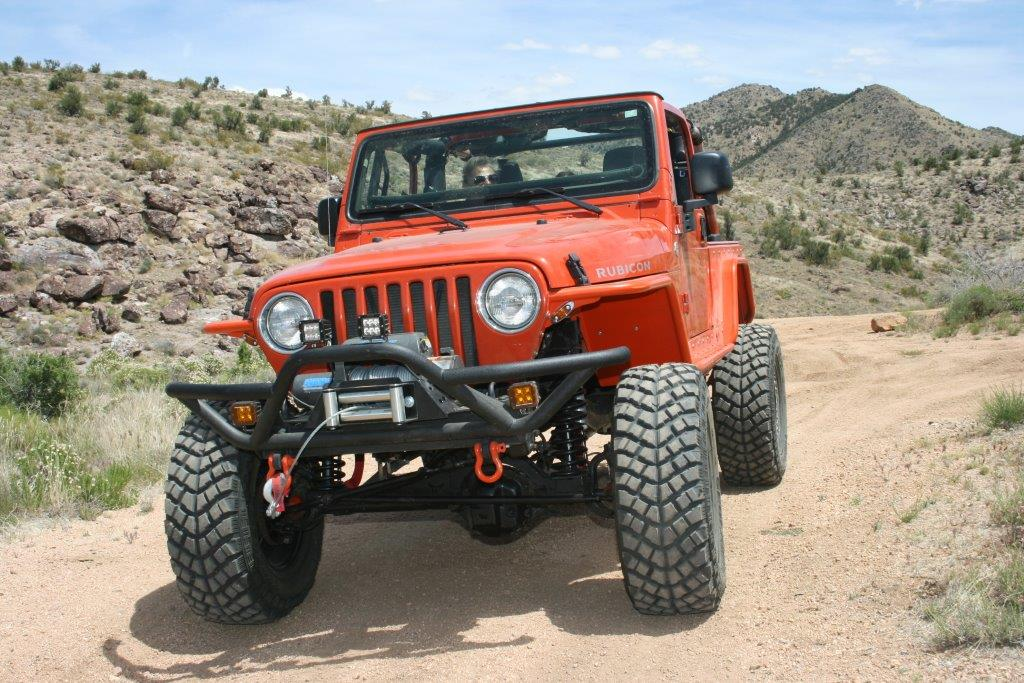 Jeep Wrangler Aftermarket Parts >> Lights, Bumpers...Action: Installing New Bumpers and ...