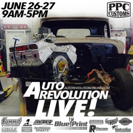 Watch Auto Revolution Build a Chevy C10 LIVE June 26 and 27