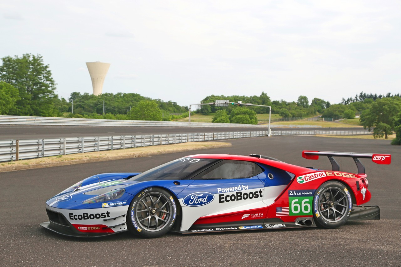 ford to race ecoboost powered gt supercar at le mans onallcylinders. Black Bedroom Furniture Sets. Home Design Ideas