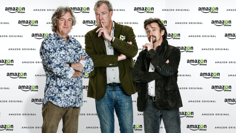 former top gear hosts clarkson hammond may to host new show on amazon prime onallcylinders. Black Bedroom Furniture Sets. Home Design Ideas