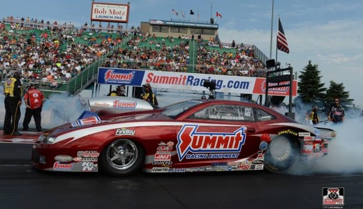 Greg Anderson Back in Championship Form, Joins Kalitta, Beckman & Stoffer in Norwalk Winner's Circle