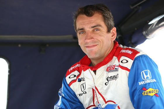 Justin Wilson, 37, died Monday following Sunday's accident at Pocono Raceway. (Image/Racintoday.com