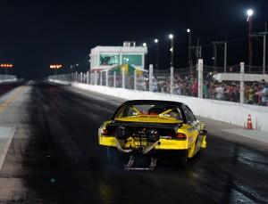 drag racing sideways