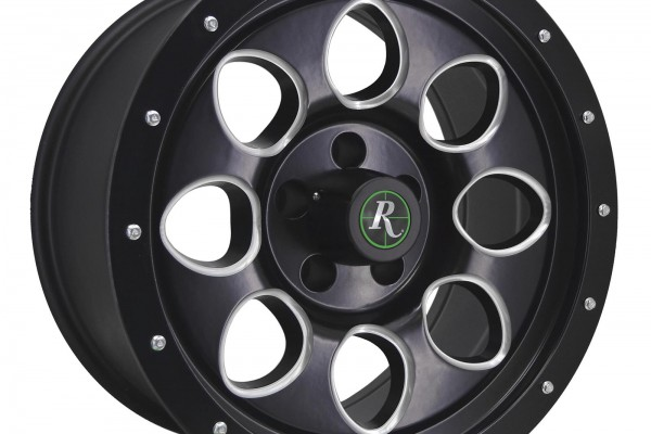 Remington Wheels Gravel Series Satin Black with Milled Accent Wheels