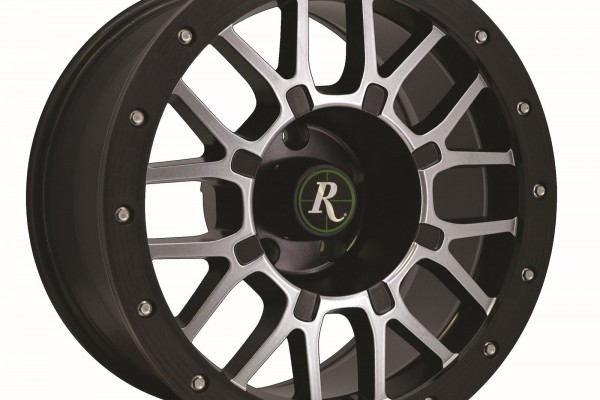 Remington Wheels RTC Series Satin Black with Machined Face Wheels