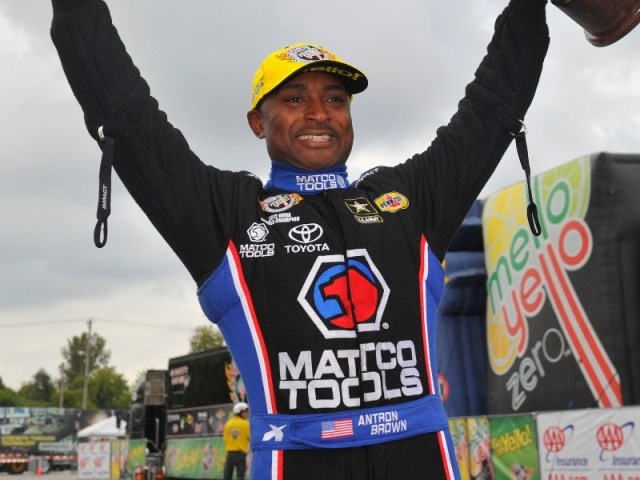 Antron Brown Top Fuel