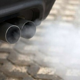 exhaust fumes