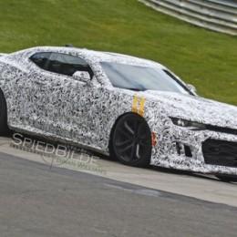 2017 Camaro ZL1 Spied?