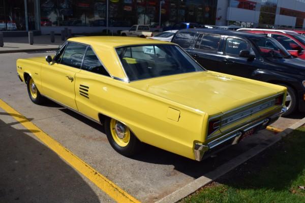 1966 Dodge Coronet 440 magnum yellow 2