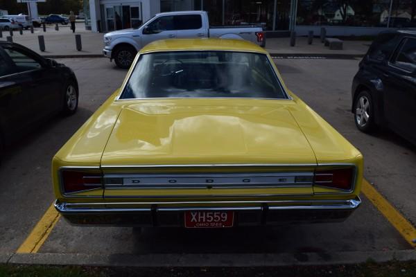 1966 Dodge Coronet 440 magnum yellow 3