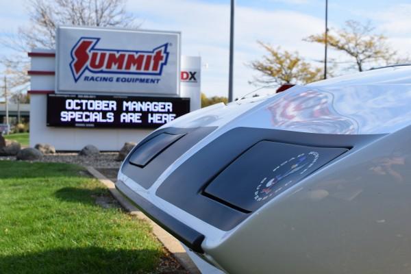 Plymouth Superbird white 3