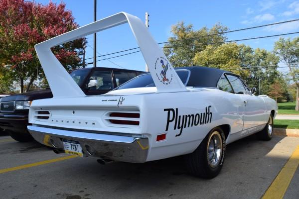 Plymouth Superbird white 6