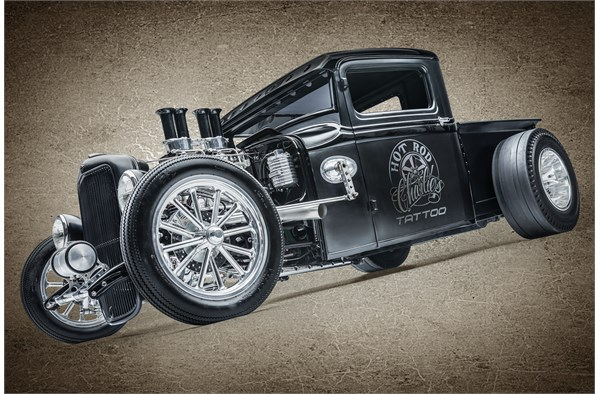 Hot Rodder, ink: Charlie Mounce\'s 1932 Ford Pickup (Story and Video ...