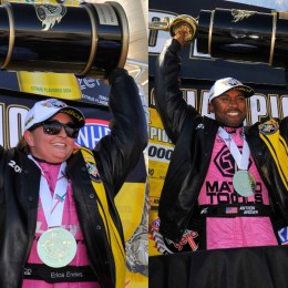 Erica Enders & Antron Brown Win NHRA Championships