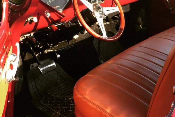 1957 Chevy Pickup interior