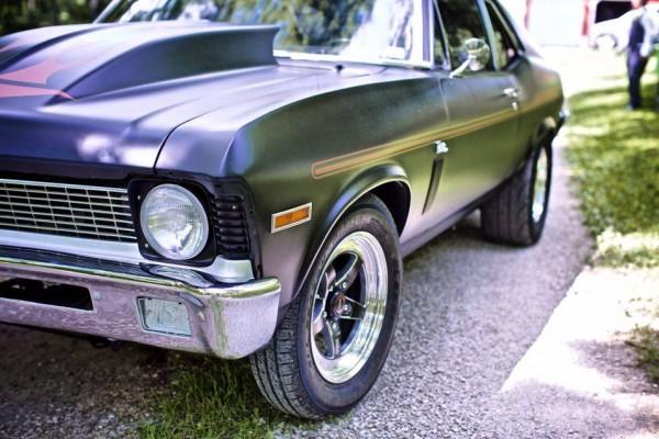 1970 Chevy Nova fender