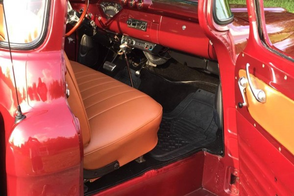 1957 Chevy Pickup Interior