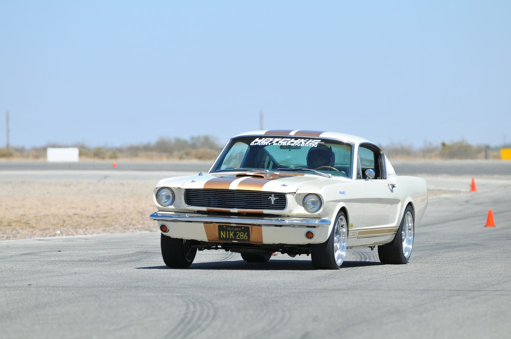 Mustang Slalom After