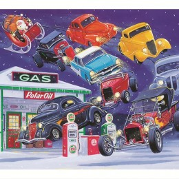 Hot Rod Night Before Christmas