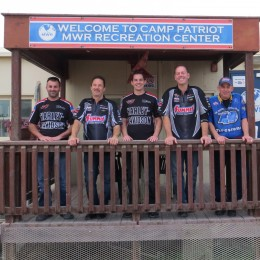 The Operation Appreciation team: Eddie Krawiec, Greg Anderson, Andrew Hines, Jason Line and Dan Runte