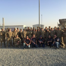 These guys were awesome! Thank you to each and every one of the men and women serving in Kuwait who took the time to show our team the ropes and share their world with us. Operation Appreciation 2015 was definitely a success!