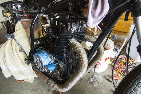 Wrap Those Rascals Installing Exhaust Wrap On Motorcycle