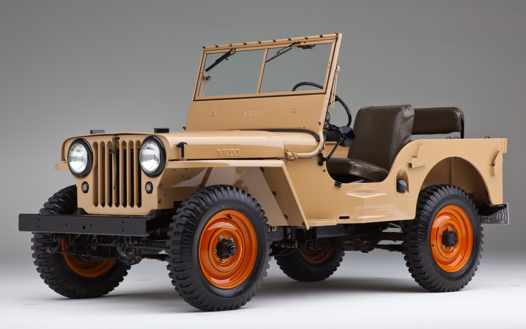 1945 Willys CJ