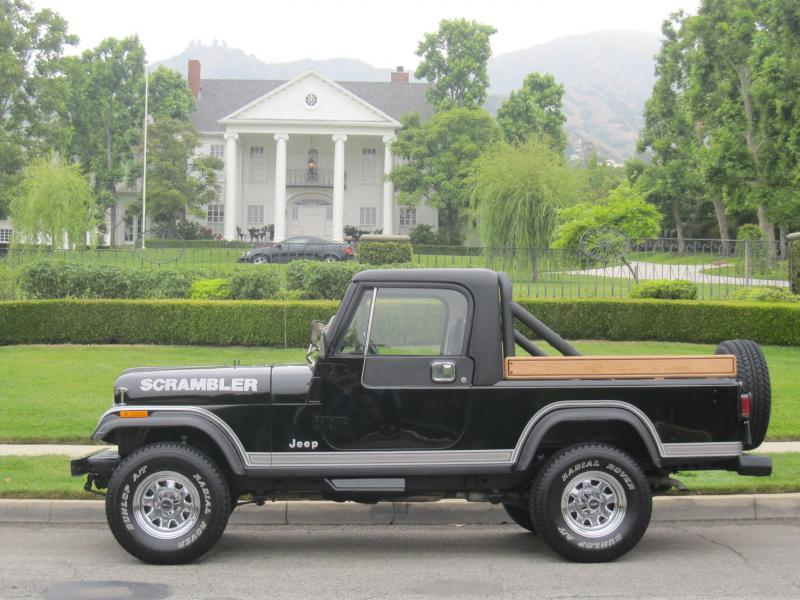 1983 Jeep CJ-8 Scrambler