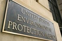 Environmental Protection Agency building sign, Washington, DC