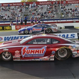 NHRA Wrap-Up: Greg Anderson Wins First EFI Pro Stock Race; Capps and Torrence Also Win