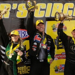 NHRA Wrap-Up: Team Summit Wins Again; Line Joins Pritchett, Wilkerson in Winner's Circle