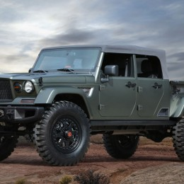 Jeep Crew Chief 715 concept Easter Jeep Safari Moab