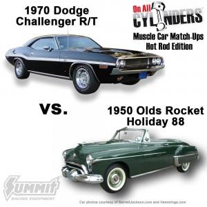 1970-Challenger-vs-1950-Olds