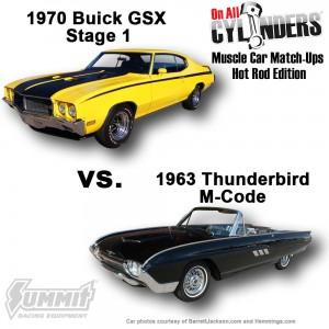 1970-GSX-vs-1963-TBird